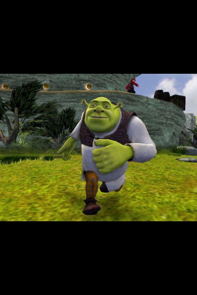 Running Shrek Shrek Trees To Plant Ogre