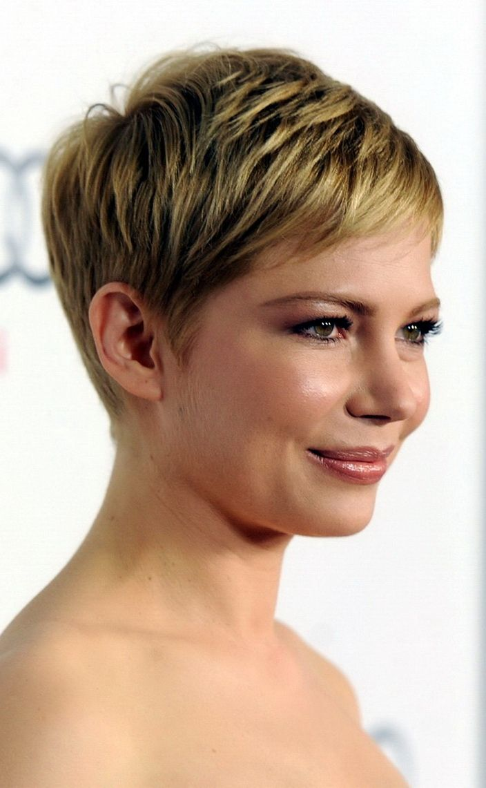 Short Haircut With Volume Could Give You The Thicker Appearance For