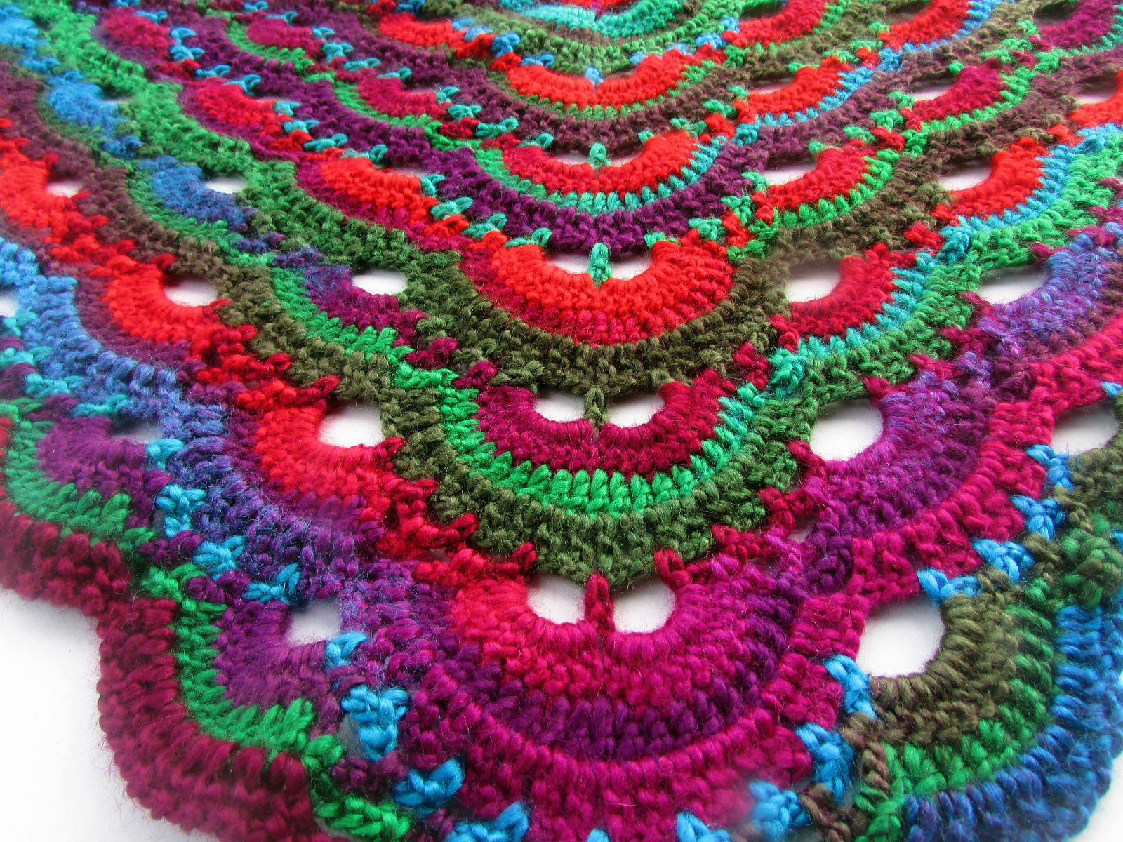 Ravelry: Virus shawl / Virustuch by Julia Marquardt | Crochet ...