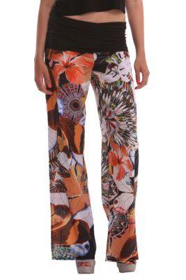 1c57b7590039 com  Compra abbigliamento originale online. TrousersFloralBlack. Desigual  Women s Trouser Otton