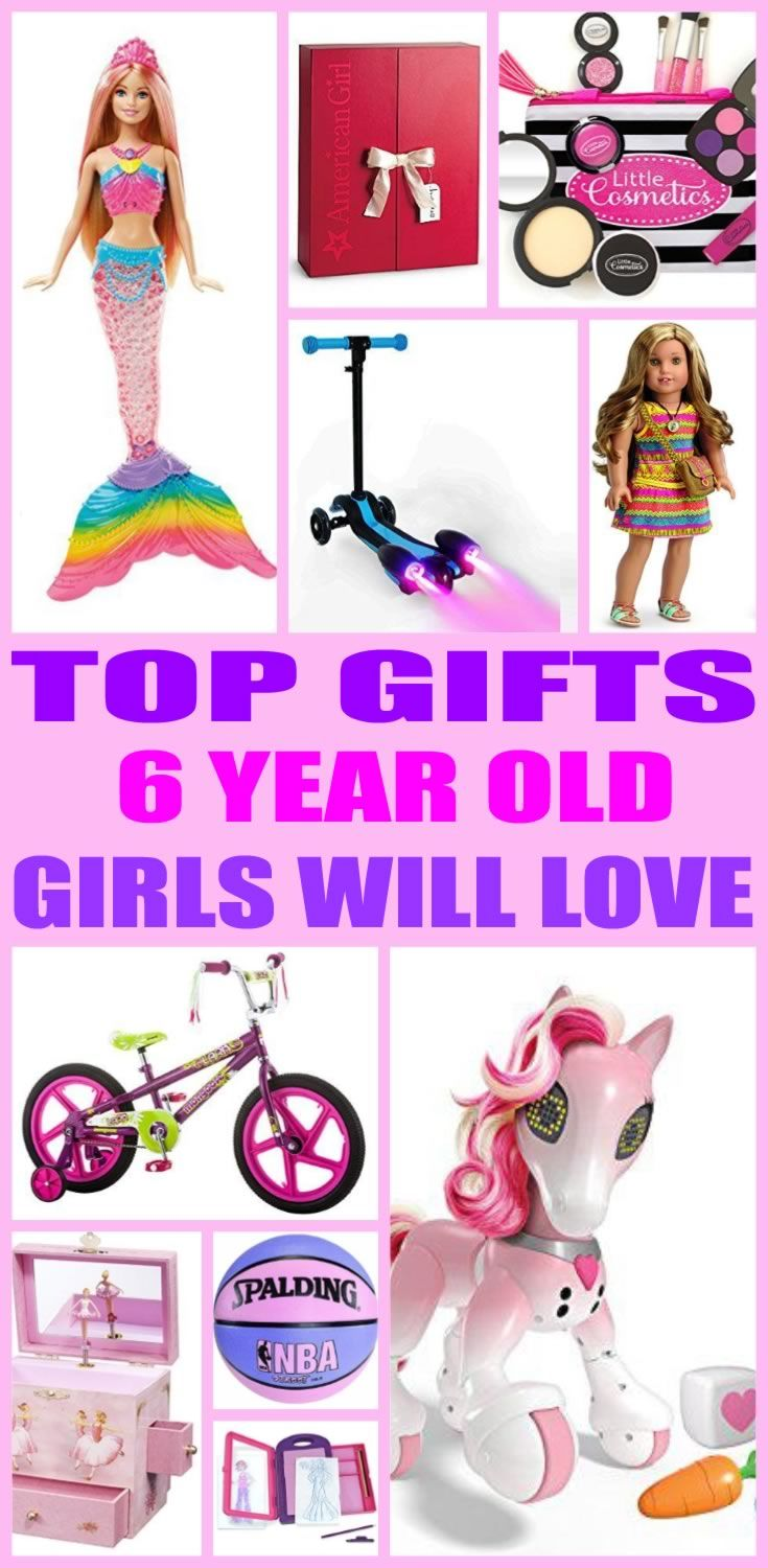Top Gifts 6 Year Old Girls Will Love | Gift Guides | Gifts ...