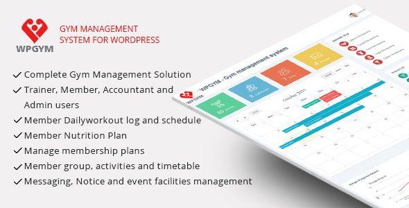 Download - WPGYM - WordPress Gym Management System