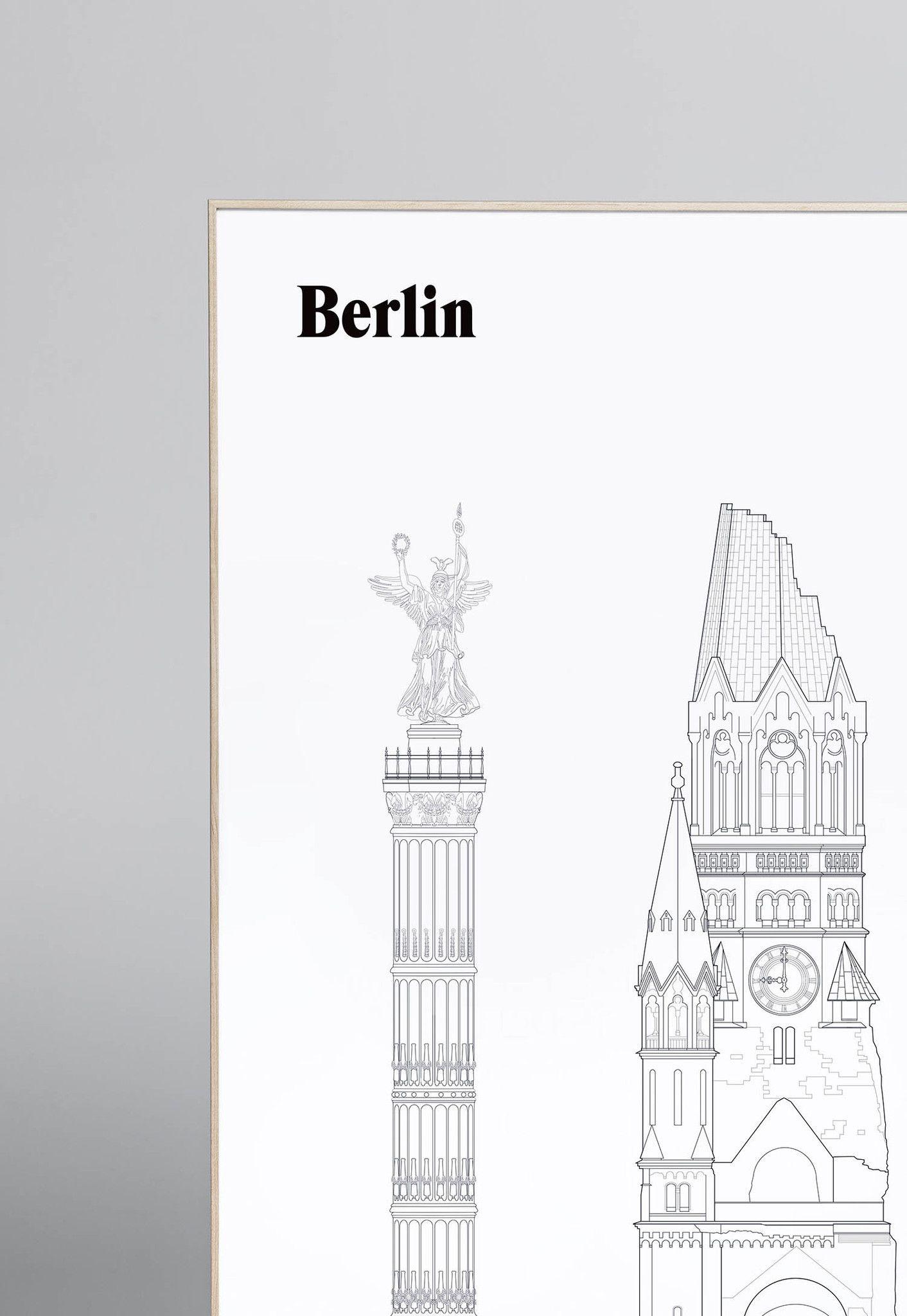 Berlin Landmarks   studio esinam