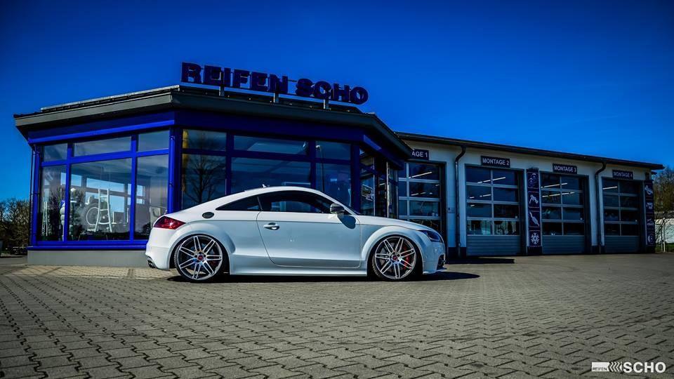 Audi Tts 8j Auf 20 Zoll Kw V3 Vom Tuner Reifen Scho Felgen