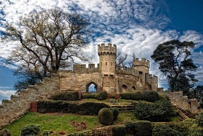 The Ruins of Warwick Castle, England.  ©Laura George