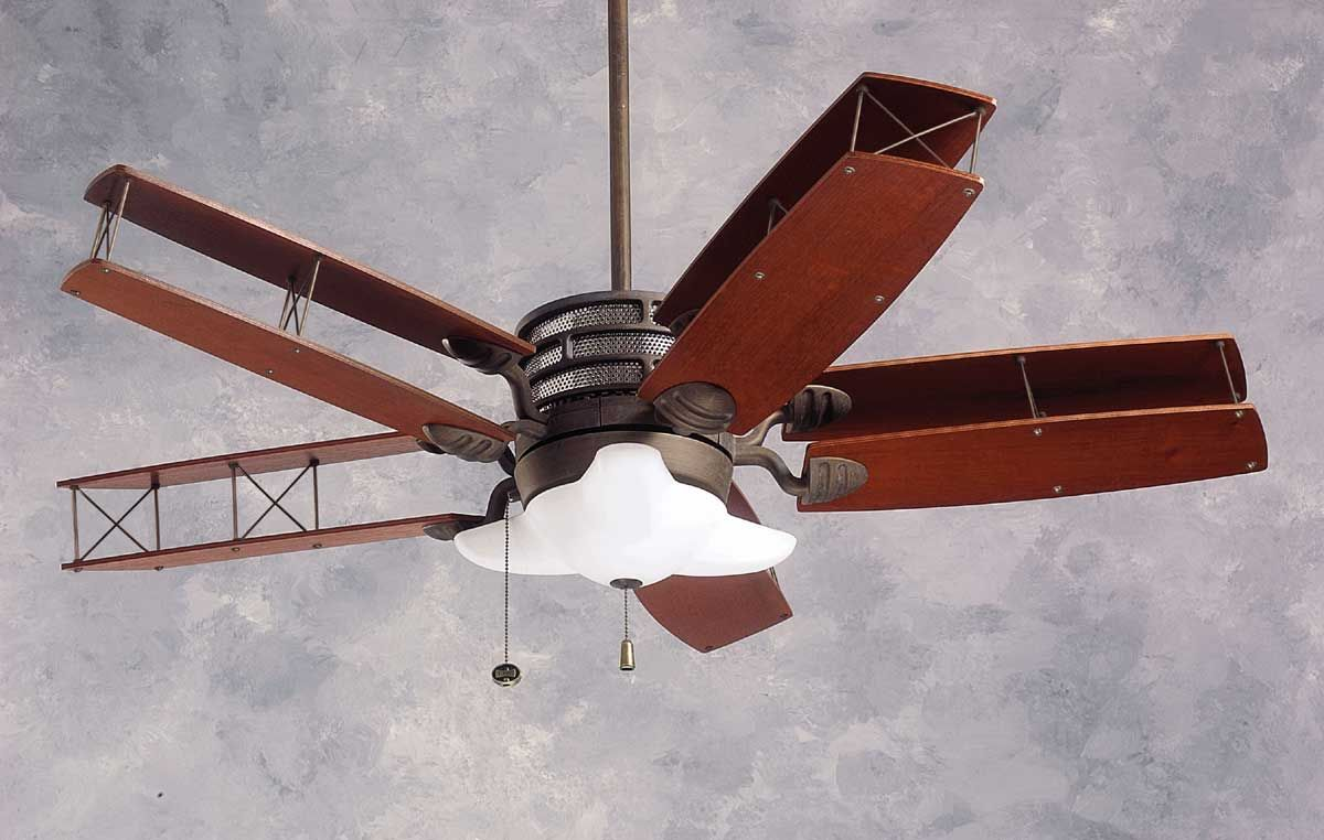 Airplane Propeller Ceiling Fan Unique Design Ceiling Fan With