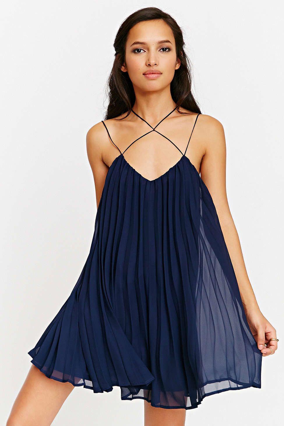 Sheer Spaghetti Strap Dresses