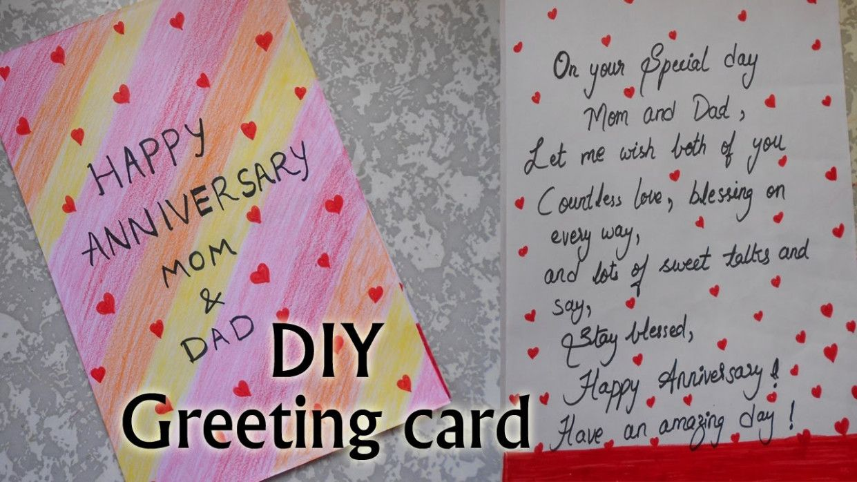 Marriage Day Greeting Card Anniversary Greeting Cards Anniversary Card For Parents Anniversary Cards