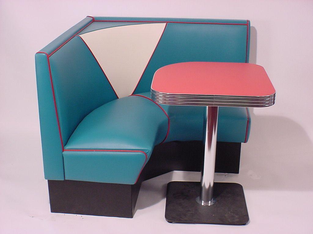 Half Circle Booths: Restaurant, Diner, Retro, 1950\'s, Kitchen ...