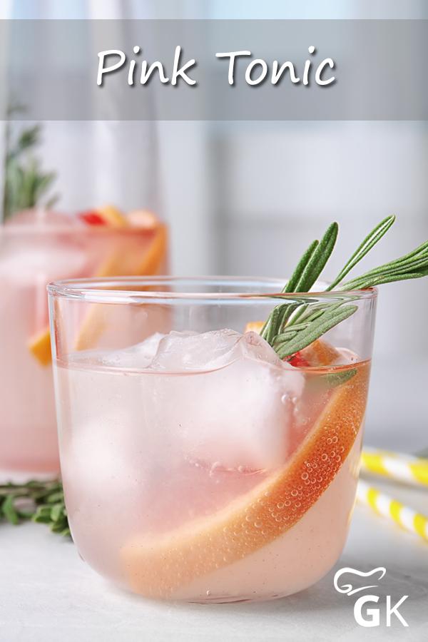 Pink Tonic Rezept Rezept Rezepte Alkoholfrei Tolle Rezepte