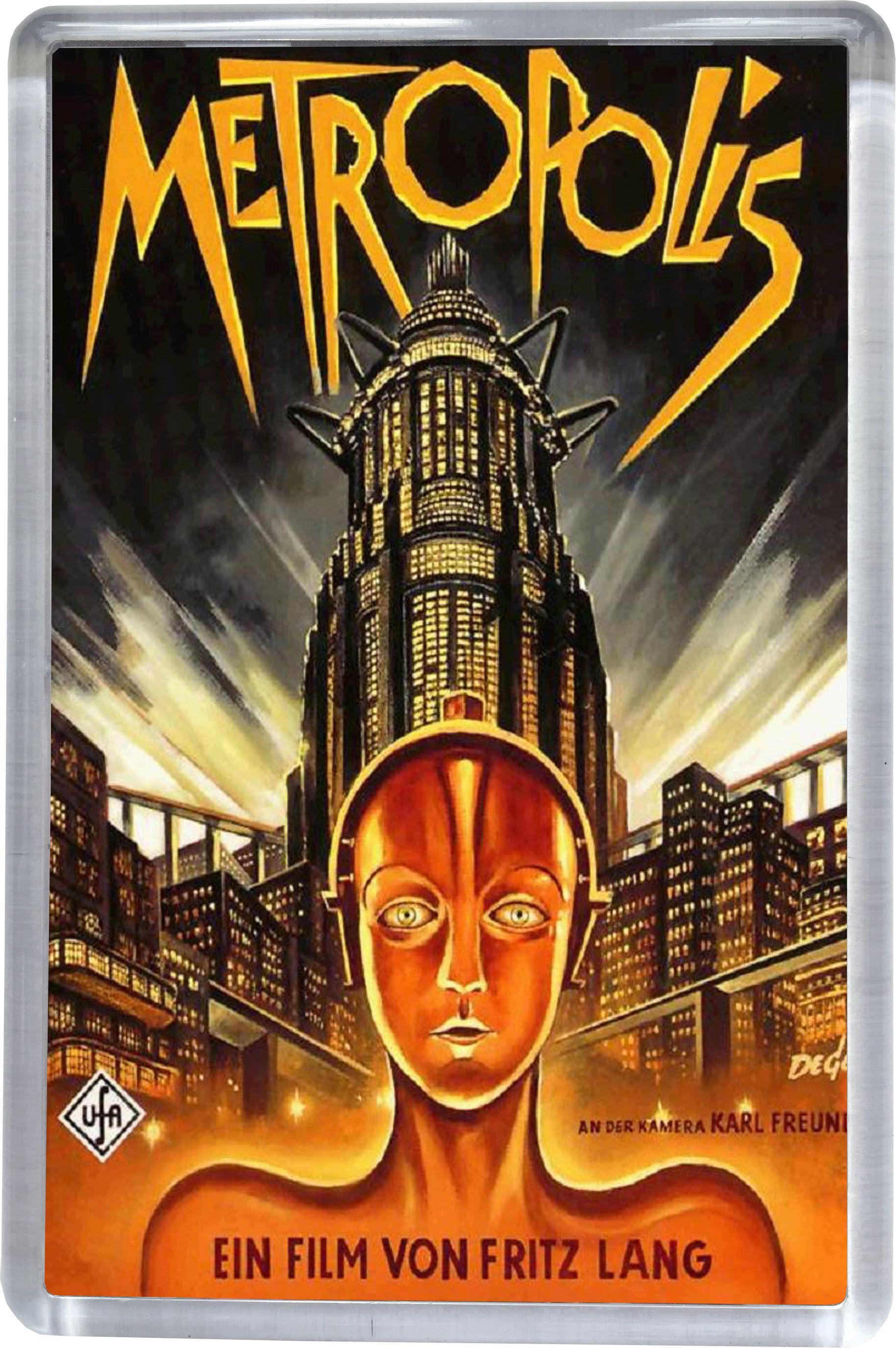 Metropolis Movie Poster Fridge Magnet 5cm X 7 5cm Metropolis Poster Movie Posters Vintage Classic Movie Posters