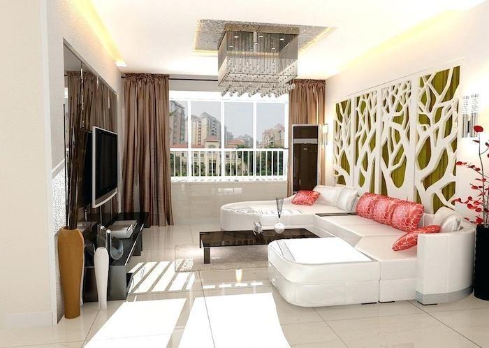 ▷ 1001 + Ideen für moderne und stilvolle Deko für Wohnzimmer - Gardinen Landhausstil Wohnzimmer