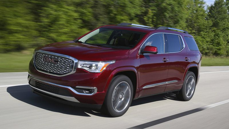 Gm Issues Stop Sale For 3 Suvs Over Incorrect Mpg Rating Gmc