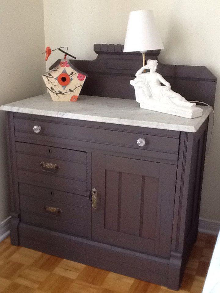 Petit Meuble Remis A Neuf Par Moi Je L Adore Furniture Chalk Paint Furniture Painted Furniture