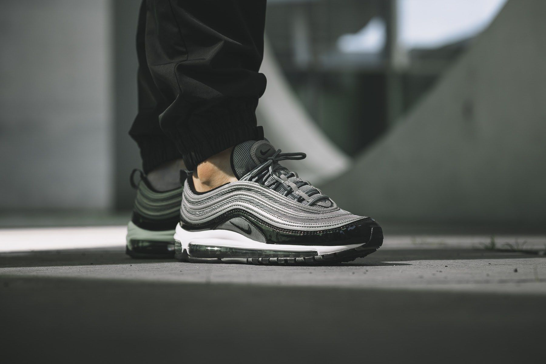 On Foot: Nike Air Max 97