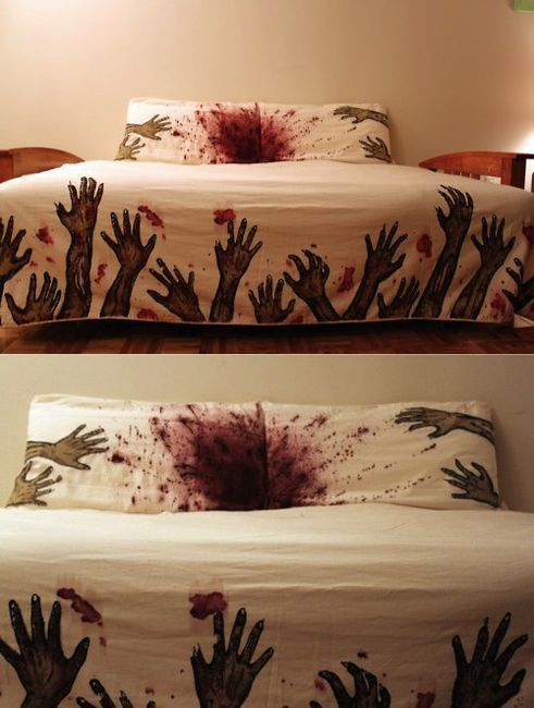 Zombie Bed sheet