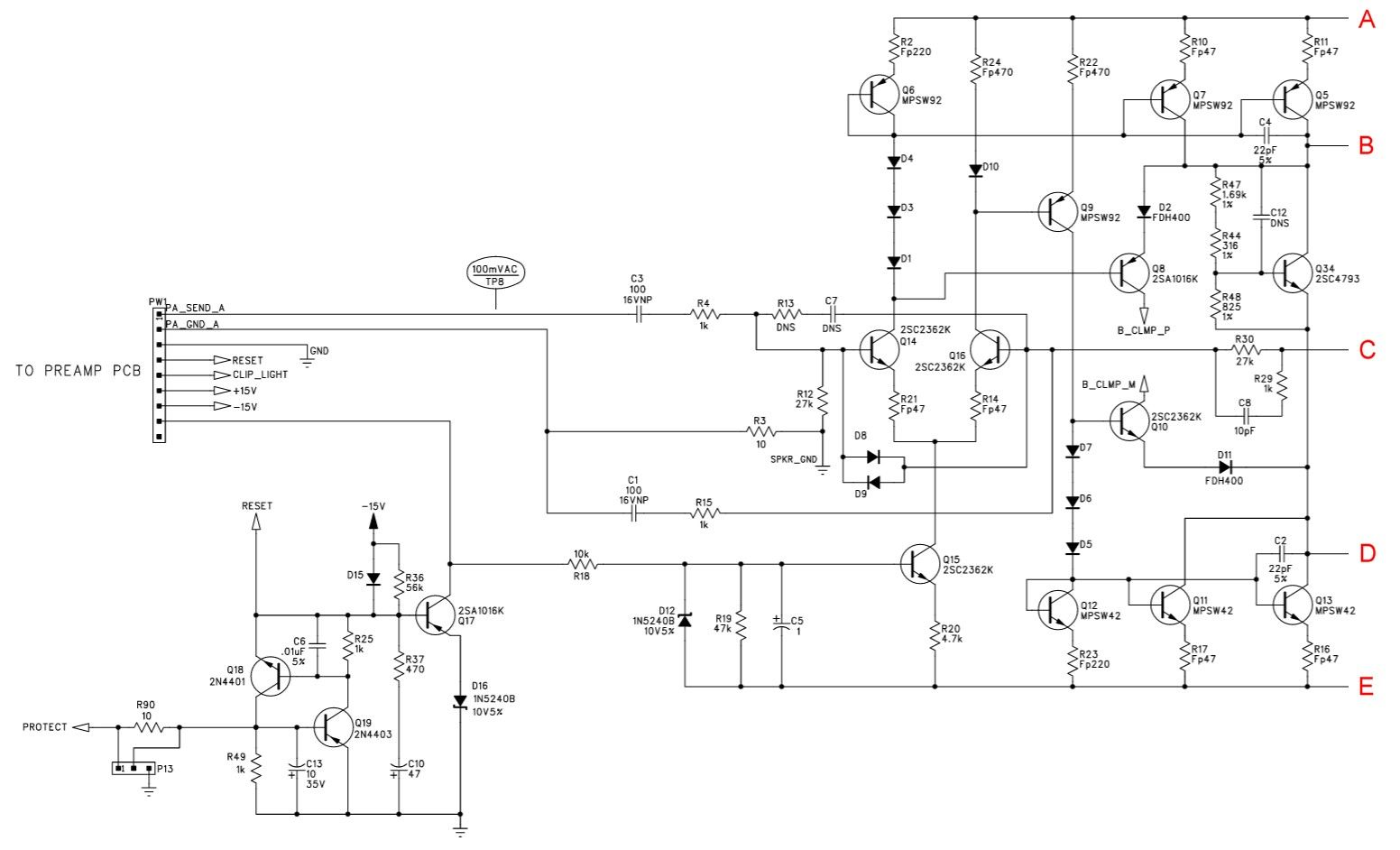wrg 5771] schema ampli puissance mosfet 1000wschema ampli puissance mosfet 1000w