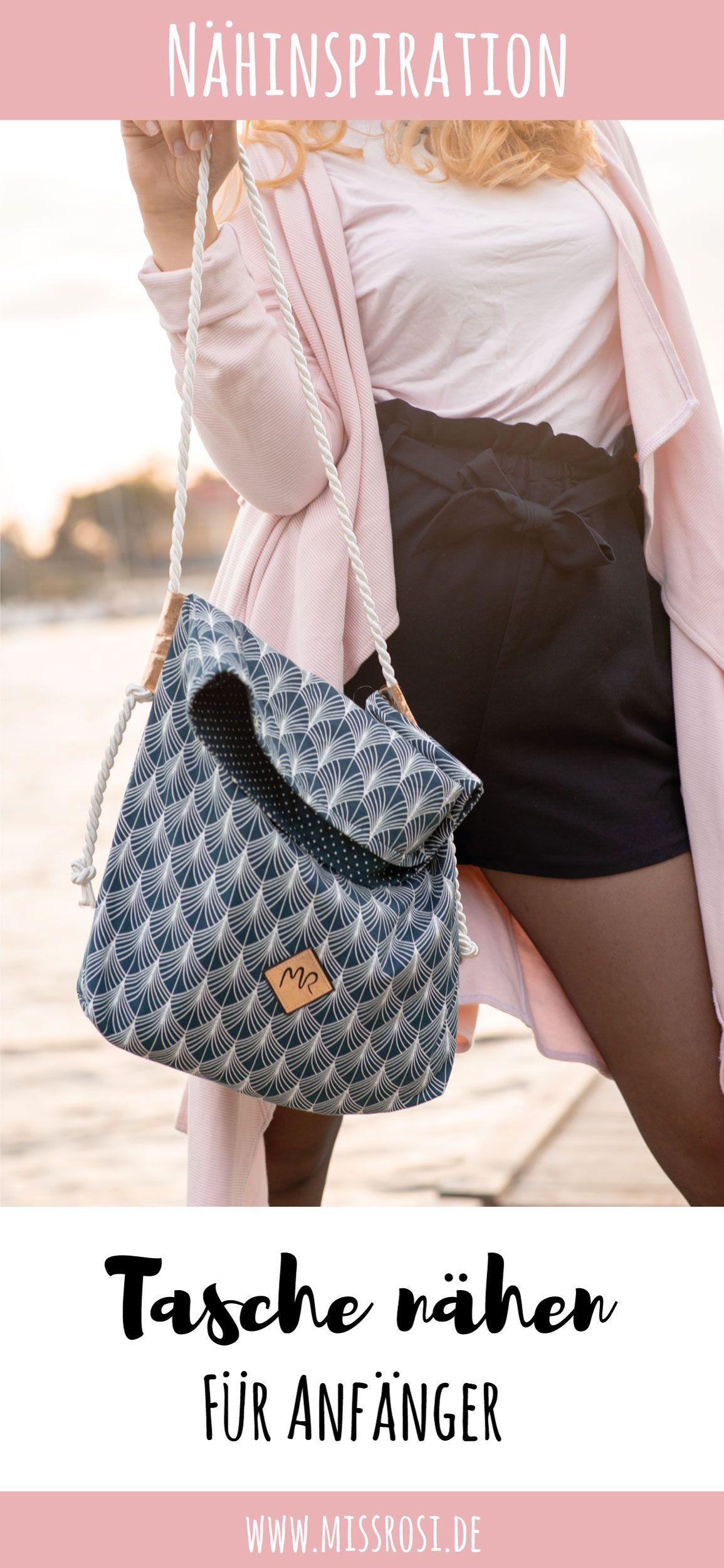 Einfache Tasche nähen mit Tillisy - Miss Rosi