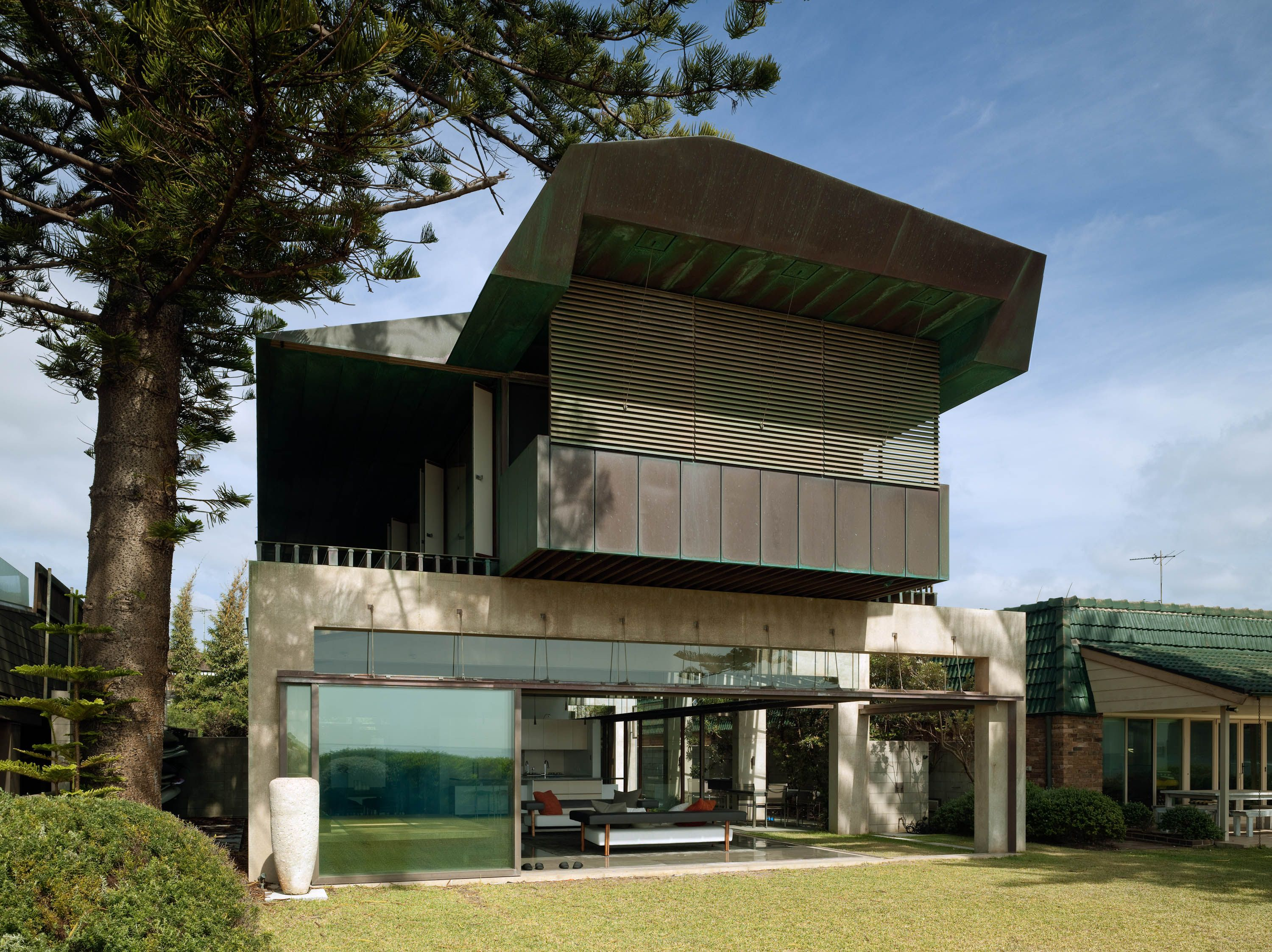 | Chantrell House by Coy Yiontis Architects | South
