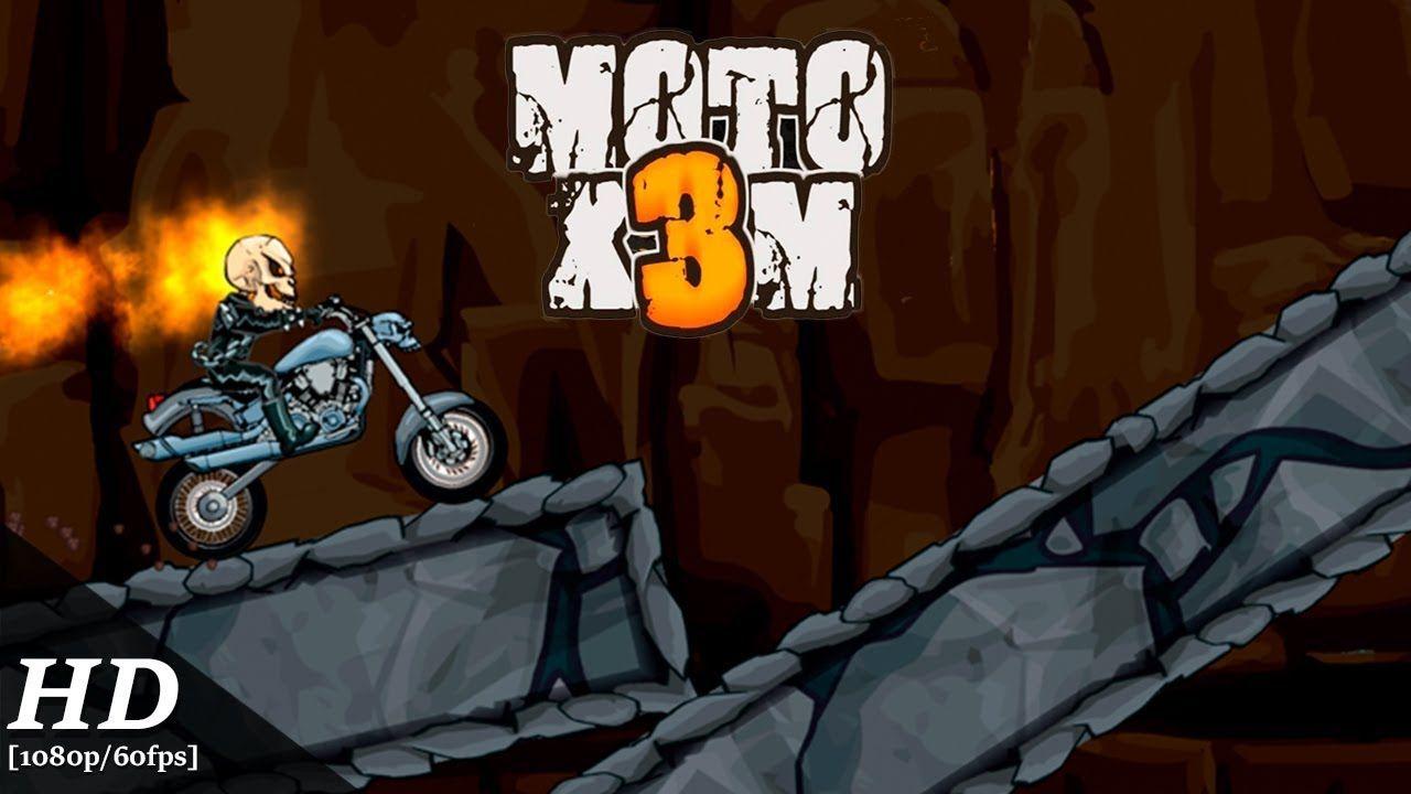 Moto X3m Bike Race Game Android Gameplay 1080p 60fps Racing Bikes Racing Games Racing