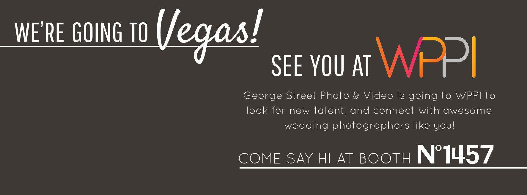 Street Photo & Video is going to Vegas for WPPI