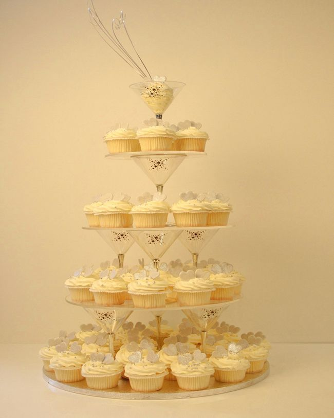 champagne cupcake tower! | Ceremony Ideas | Pinterest | Champagne ...