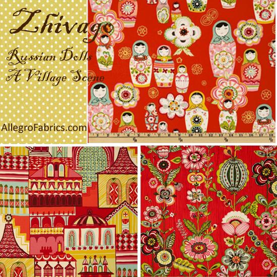 Zhivago Traditional Russian Folklore AH Fabric Anastasia Stripe ...