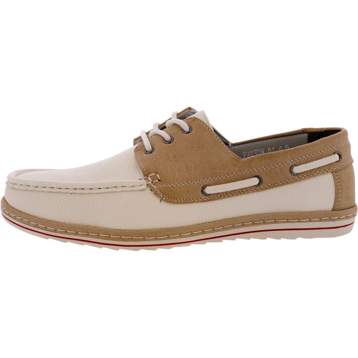 Brixton mens boat shoes beige boat shoes mens boat