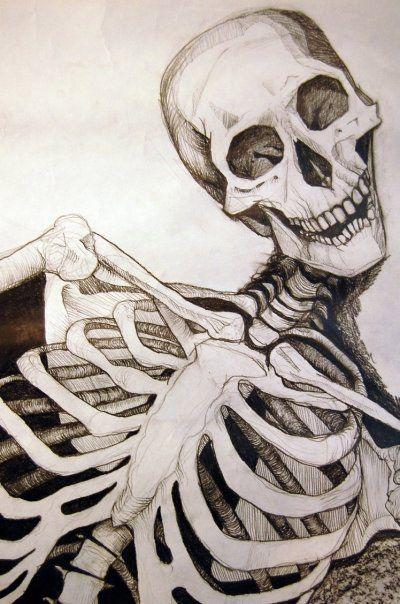 Skeleton Drawing Close Up Skeleton Drawings Drawings Anatomy