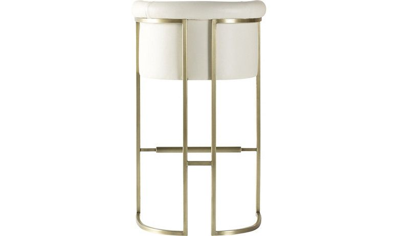 Diolite Bar Stool By Jean Louis Deniot 3149 Baker Furniture