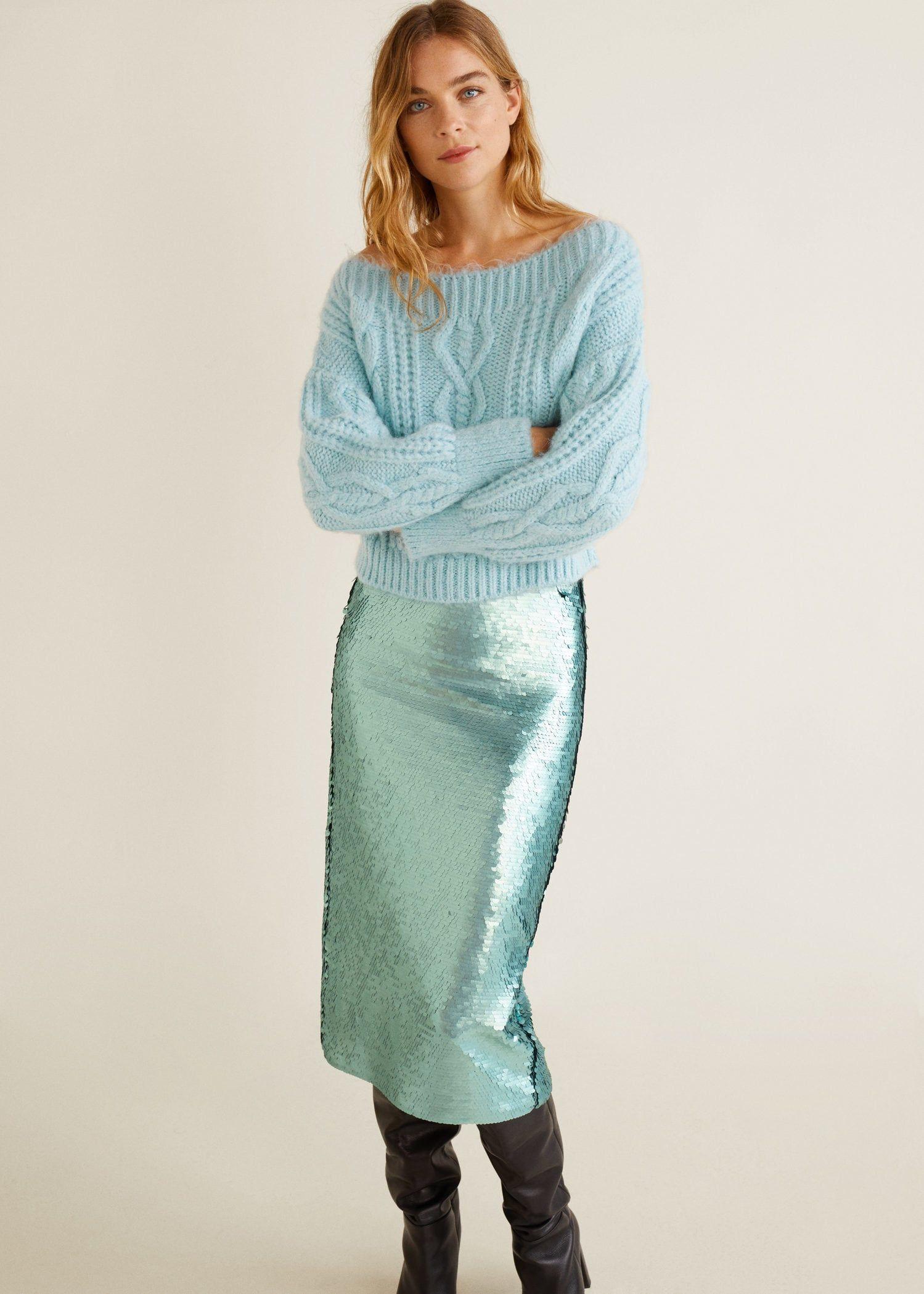 461f55bb09 Sequin skirt - Women