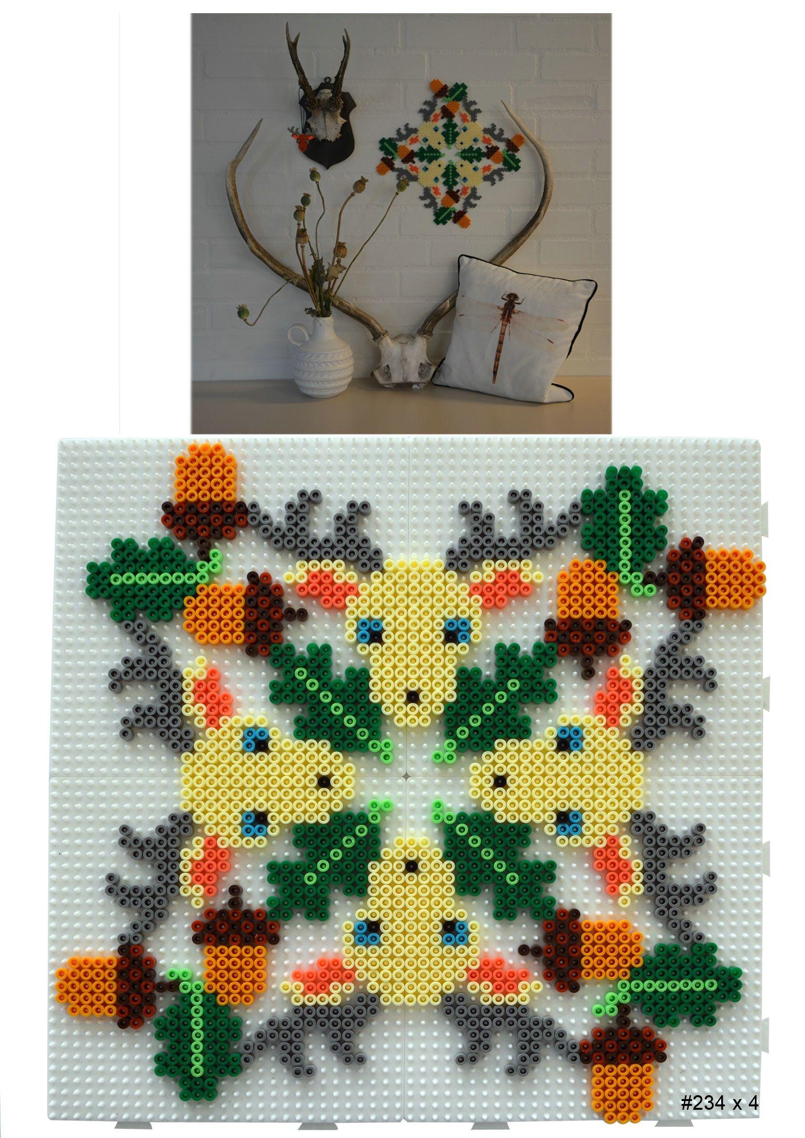 HAMA - Deer-icon | HAMA HAMA | Pinterest | Perler beads, Wall ...