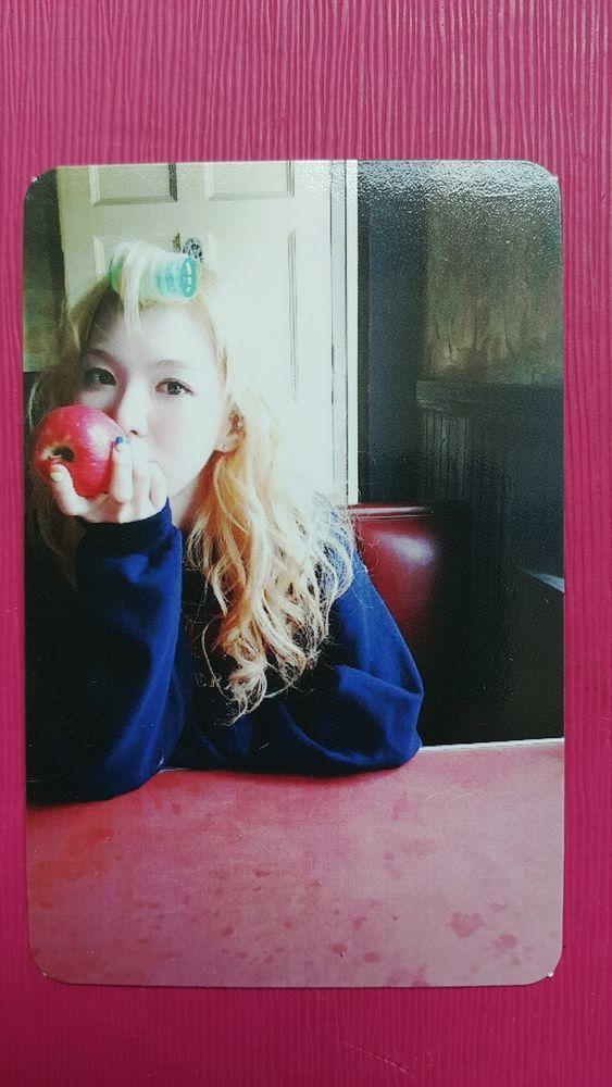 Red Velvet Wendy Official Photo Card 1st Mini Album Ice Cream