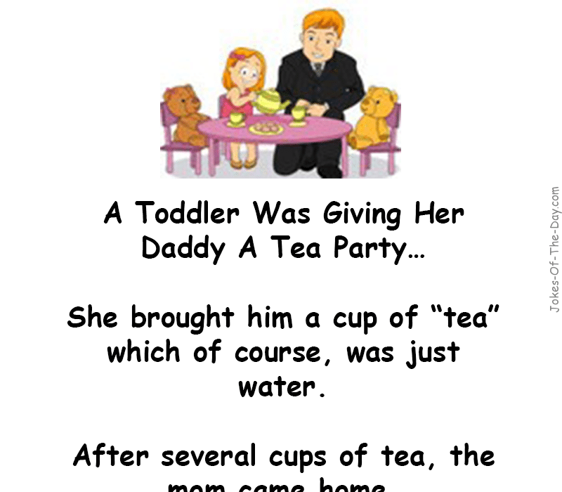 The Crappy Tea Party | Home | Party jokes, Fathers day jokes