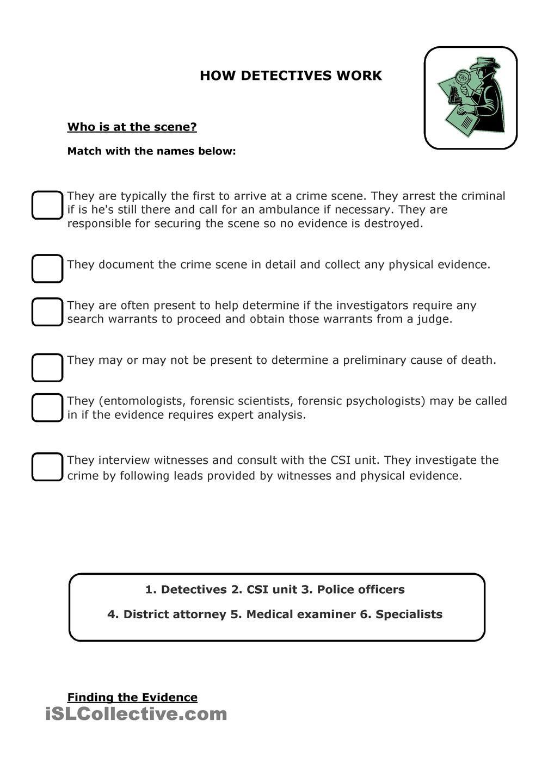 Forensic Science Physical Evidence Worksheet Nidecmege