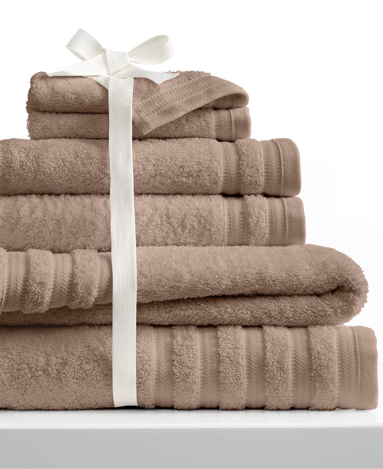 http://www.homefavour.com/category/Bath-Towels/ Baltic Linens Turkish Pure Elegance 6-Piece Towel Set - Bath Towels - Bed & Bath - Macy's
