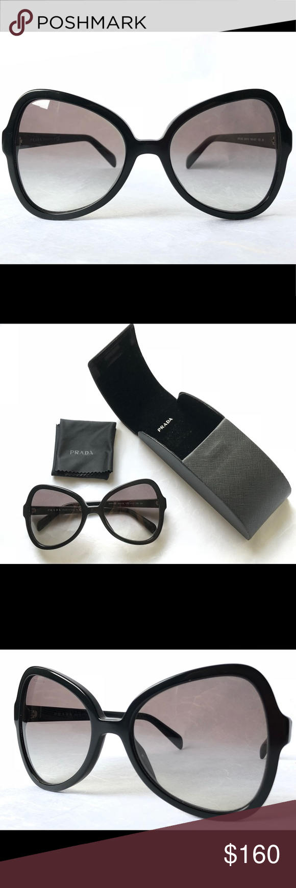 d75627d9c7d Prada sunglasses Original Prada sunglasses. Black. Made in Italy. With box.  In perfect condition. Prada Accessories Sunglasses