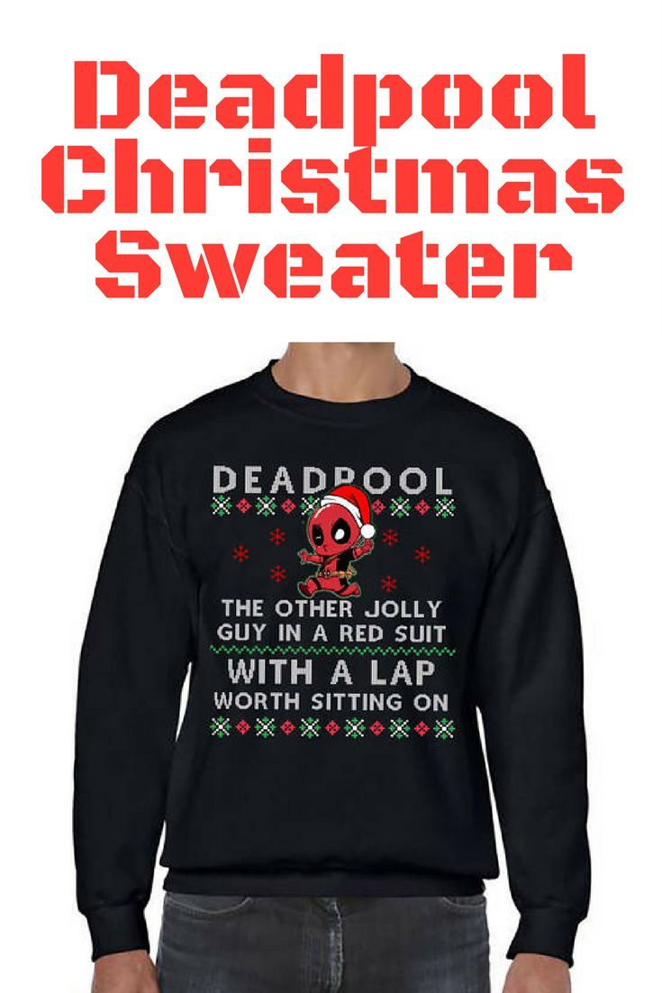 my boyfriend is a big marvel fan and will love this christmas sweater especially since deadpool is his absolute favorite and mine as well