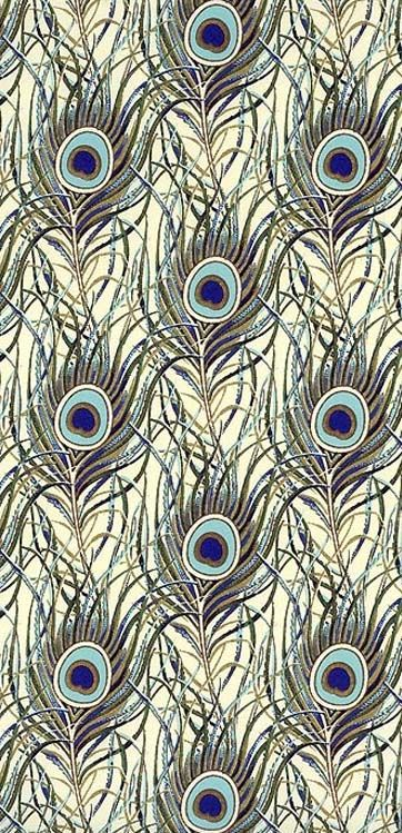 Peacock Feathers Crafting Paper From Italy By Rossi