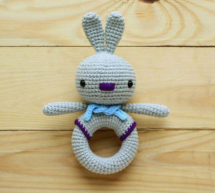 Amigurumi teddy bear and teddy rattle | VIKINIS | Pinterest ...