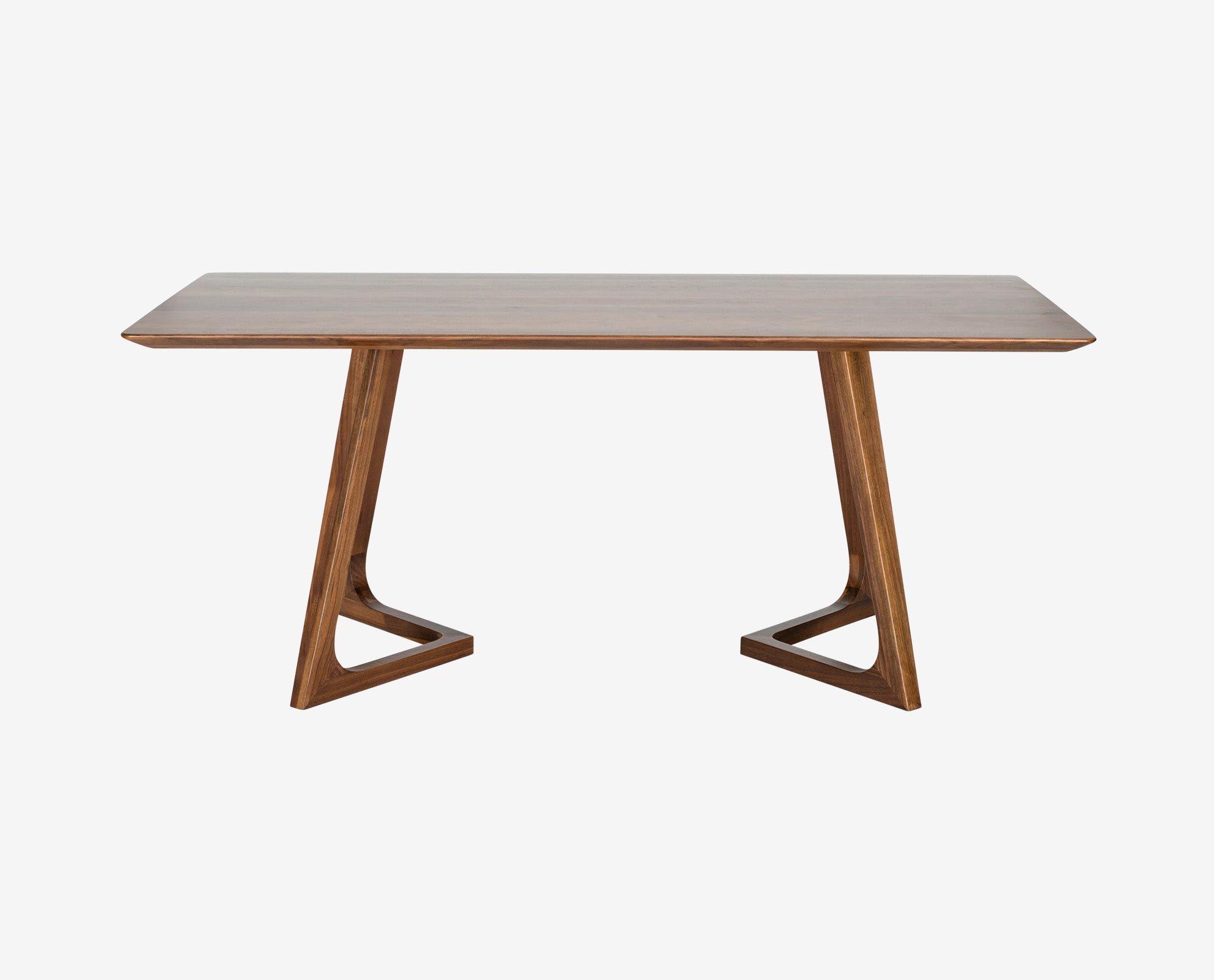 Cress Rectangular Dining Table Scandinavian Designs  Flat Iron Endearing Rectangle Dining Room Tables Inspiration