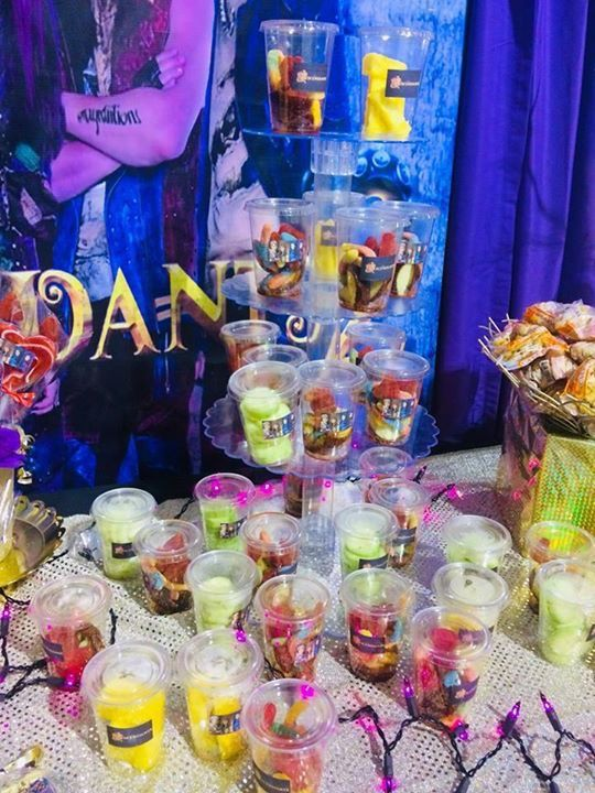 Descendants 2 Snack Table Made By Piris Snacks Birthday Decorations