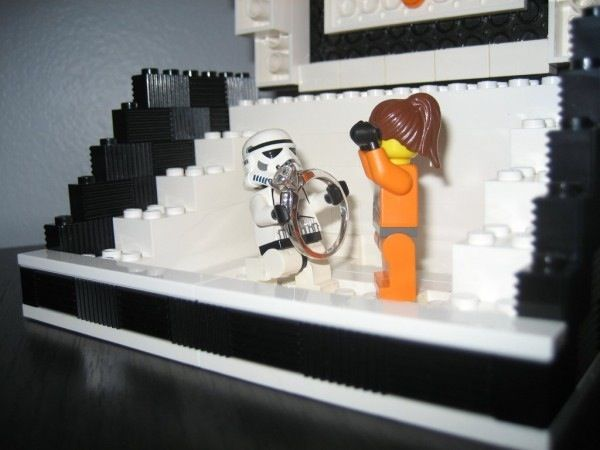 Star Wars And LEGO Marriage Proposal