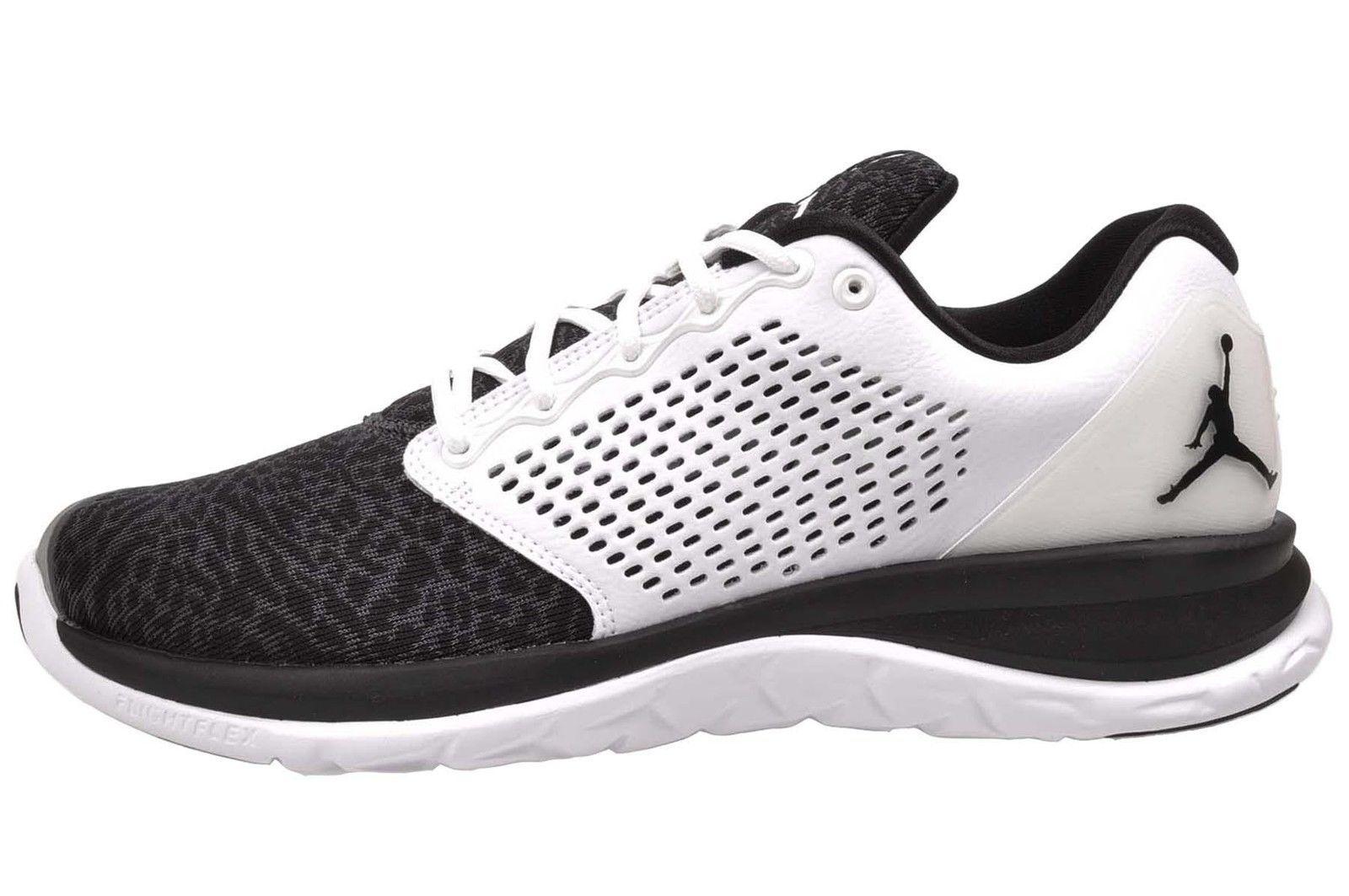 3c9269906f2 Nike Jordan Trainer ST Air Mens Shoes Black White 820253-110 ...