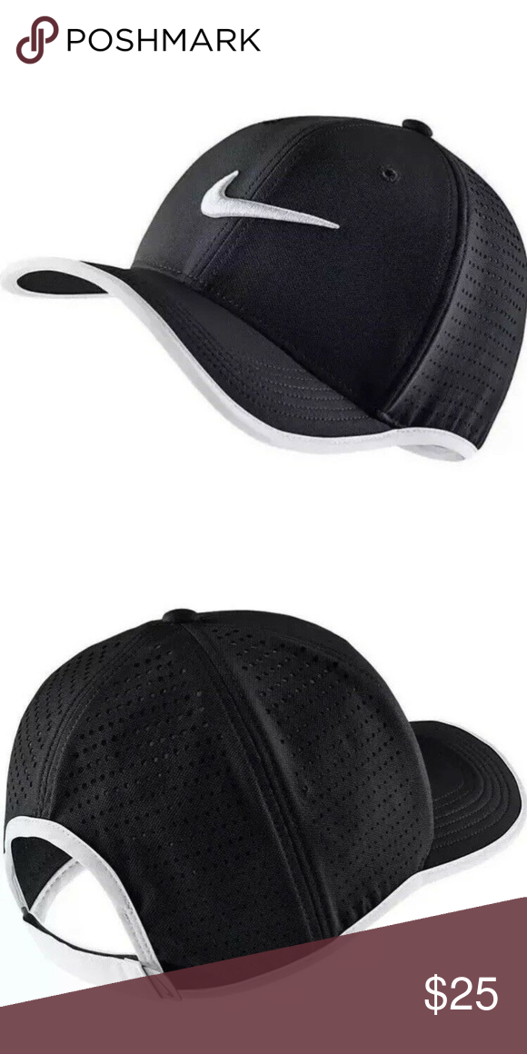 outlet store 46569 02d14 Nike Adult Unisex Vapor Classic 99 Adjustable Hat Sellers Note  HT 1 Nike  Adult Unisex Vapor Classic 99 Dri-Fit Adjustable Training Hat Black White  Style  ...