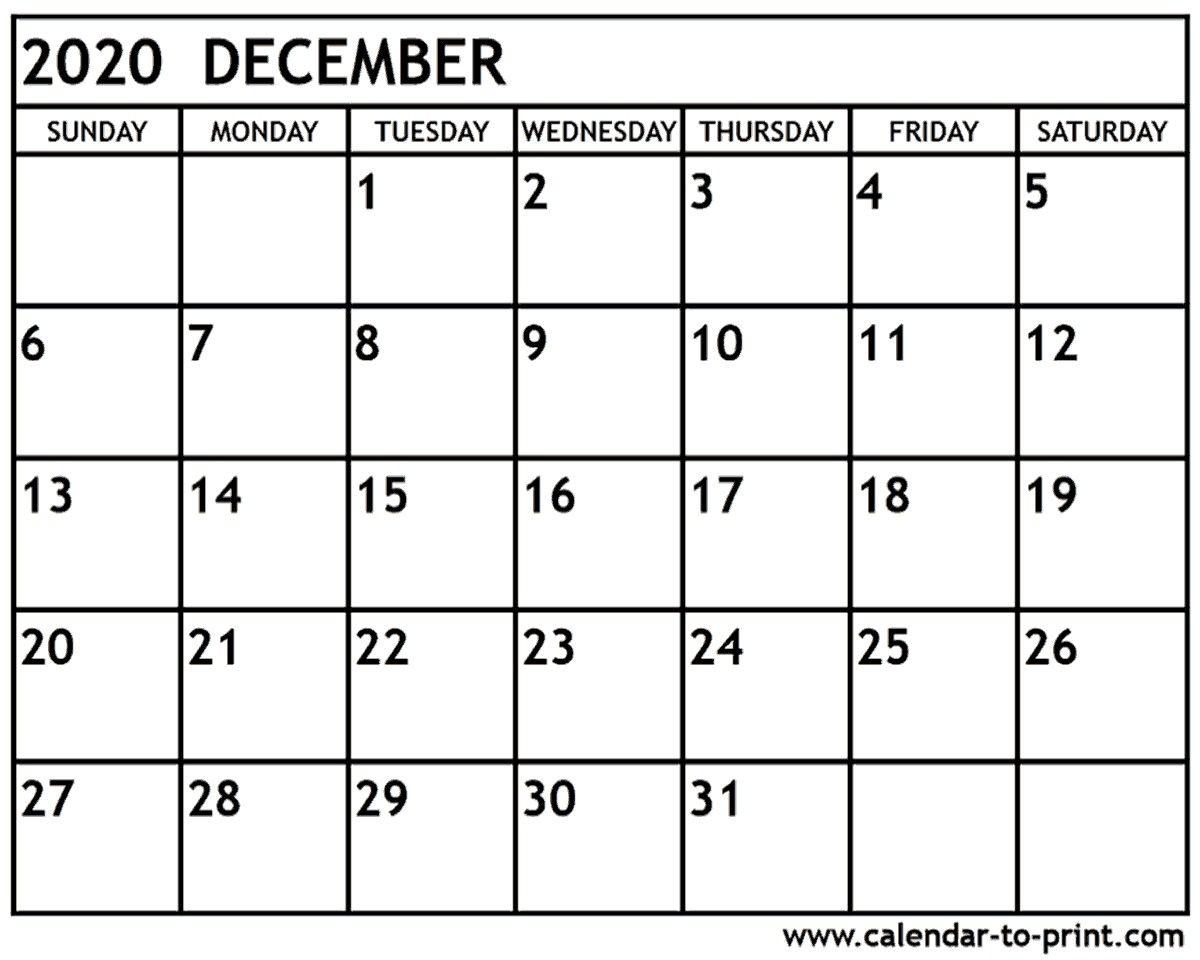 Printable December 2020 Calendar.December 2020 Calendar Printable December 2020 Calendar 51