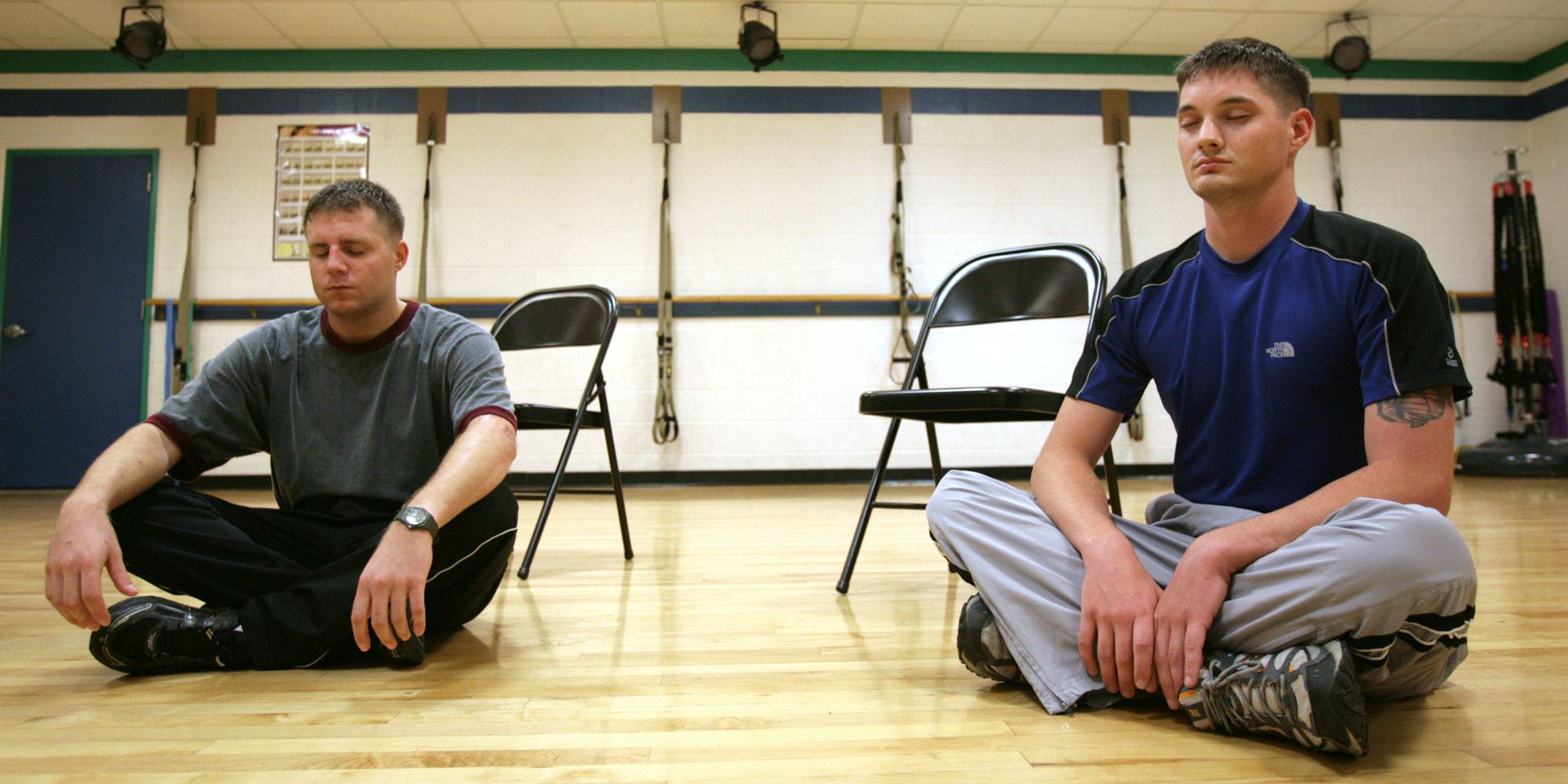 Veterans find comfort in meditation therapy therapy