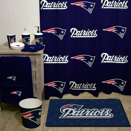 The Complete New England Patriots Bathroom With Images Sports