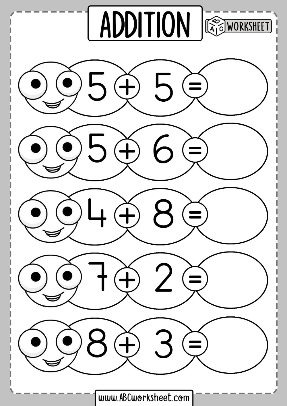 small resolution of Addition Sums For Grade Kids Worksheet   Addition worksheets