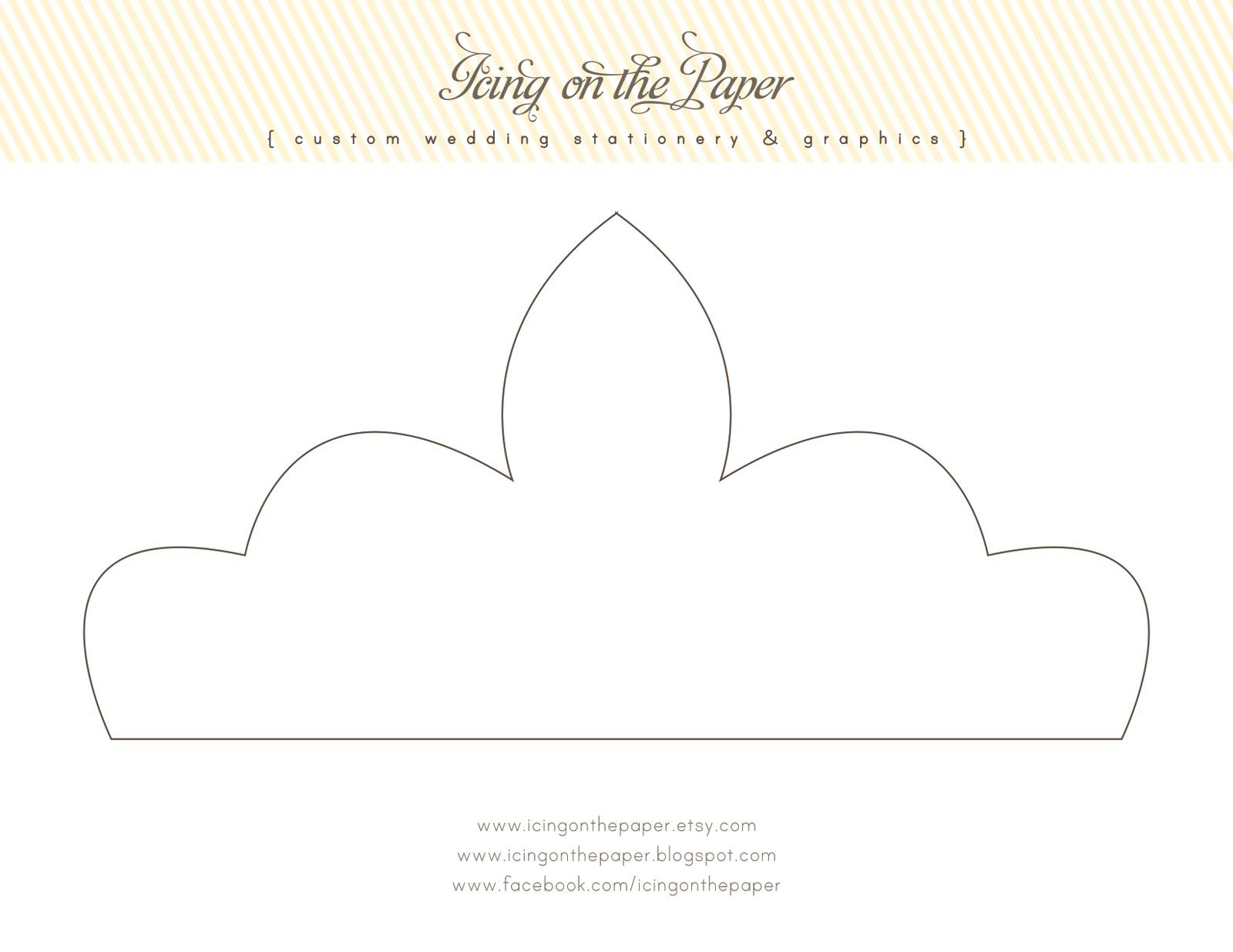 printable+crowns+and+tiaras | Icing on the Paper: FREE Printable ...